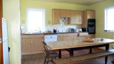 Our kitchen/diner is fully equipped as you would expect in a 5 bedroom house!